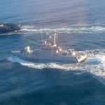 ФСБ сообщила об уходе украинских судов из Керченского пролива в свой порт