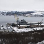 Минобороны отчиталось о ремонте авианосца «Адмирал Кузнецов»