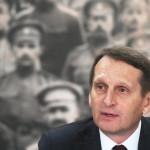 Нарышкин посоветовал «не верить басням» на вопрос о работе разведки