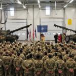 Великобритания усилит военное присутствие в Эстонии танками
