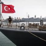 Турция начала строительство базы военного флота на Черном море