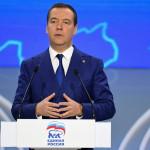 Медведев назвал три урока 2018 года для «Единой России»
