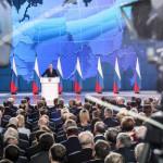 Путин объяснил показ ракет во время послания желанием успокоить россиян