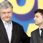 Зеленский и Порошенко завершили дебаты фразами о войне и фейках