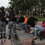 Несогласованная акция в центре Москвы. Главное