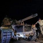 Турция начала наземное наступление в Сирии в трех точках